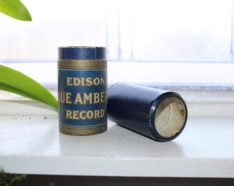 Antique Edison Cylinder Record 1907 An Easy Job On The Farm