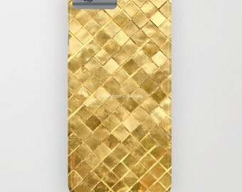 Phone Case 18 Styles Available! Golden Checkerboard  - iPhone, iPod, & Samsung Galaxy!