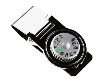 Camera Dial Money Clip