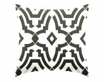 Black and white pillow covers, Pillows  Cushion Covers , Decorative pillow, throw pillow,  geometric pillow