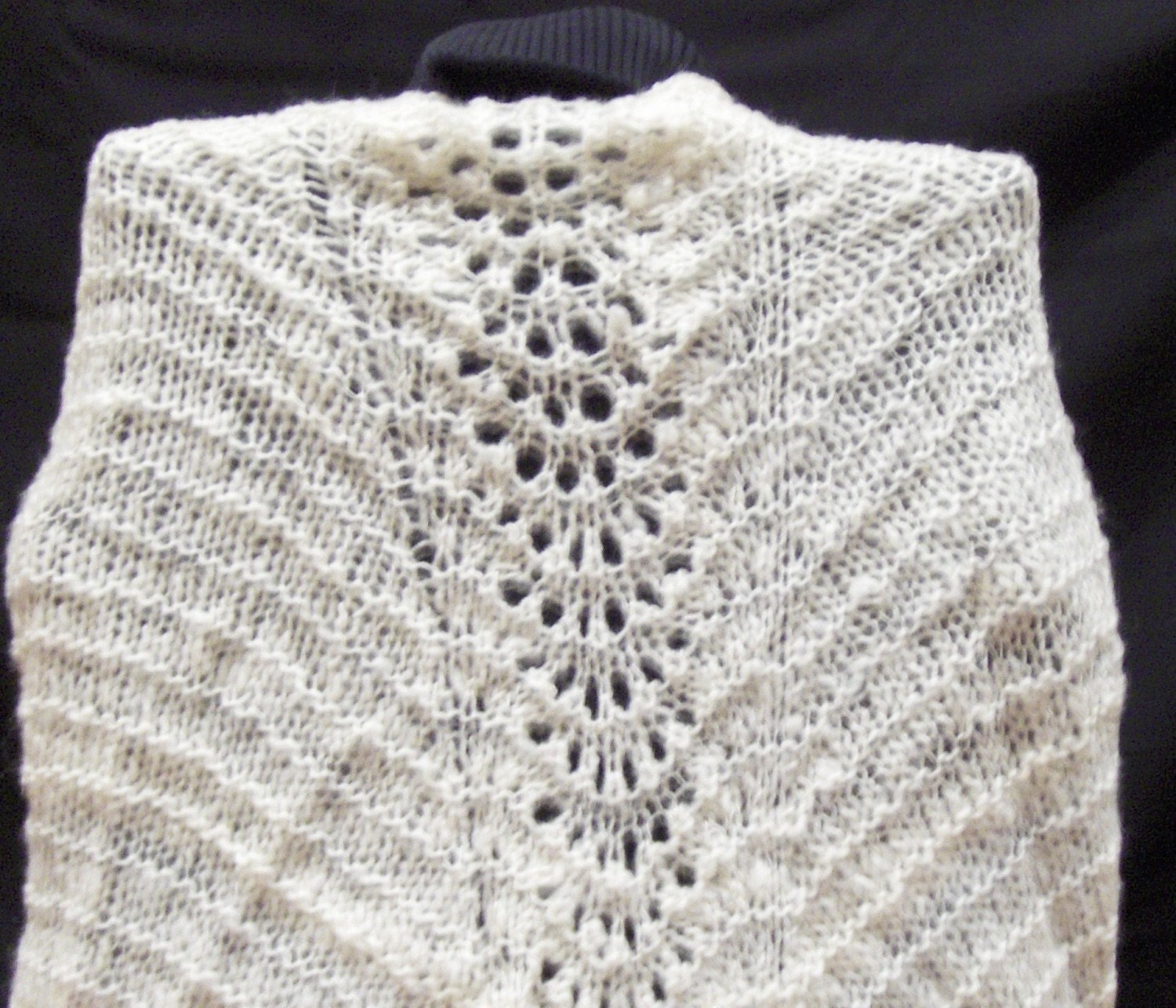 Lace Shawl Pattern Easy Lace Knitting Pattern Beginner Knitting ...