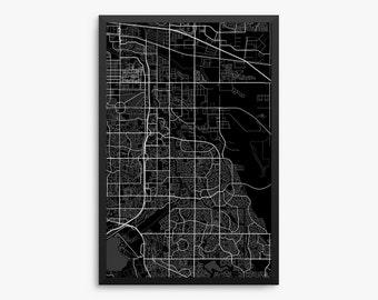 Aurora street map Etsy