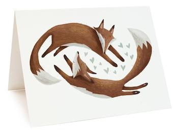 Fox Friends Card