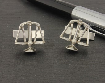 Scales of Justice Cufflinks.