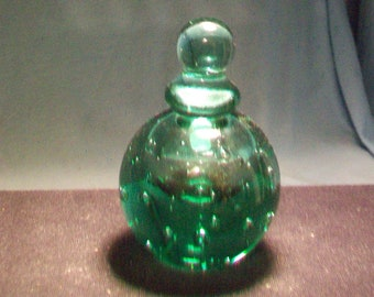 Green Perfume Bottle MMA