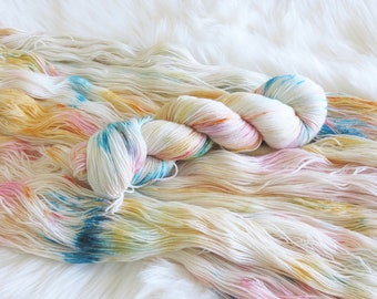 She Makes Arrows Hand Dyed Fingering Weight Sock Yarn for Knitting or Crochet