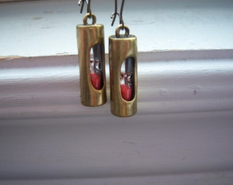 Hour Glass Earrings - Hourglass Earrings  -Like Sand Through The Hour Glass Earrings  - Free Gift With Purchase