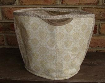 Oval Bucket Bag Organizer