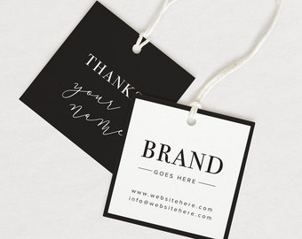 Thank You Tag, Product thank you, Custom hang tag, Custom clothing tag, logo tag, custom clothing labels, custom hang tags, clothing tag