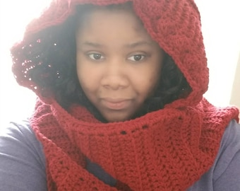 Hooded scarf (Scoodie)