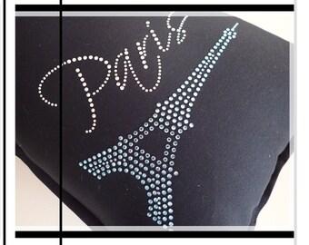 Black Paris Cushion