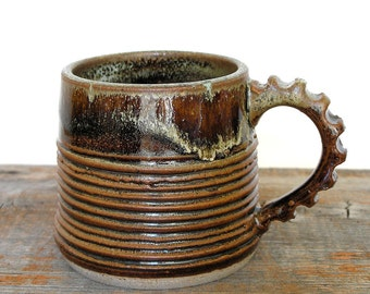 mug, cup, coffee cup, tea, in black and green