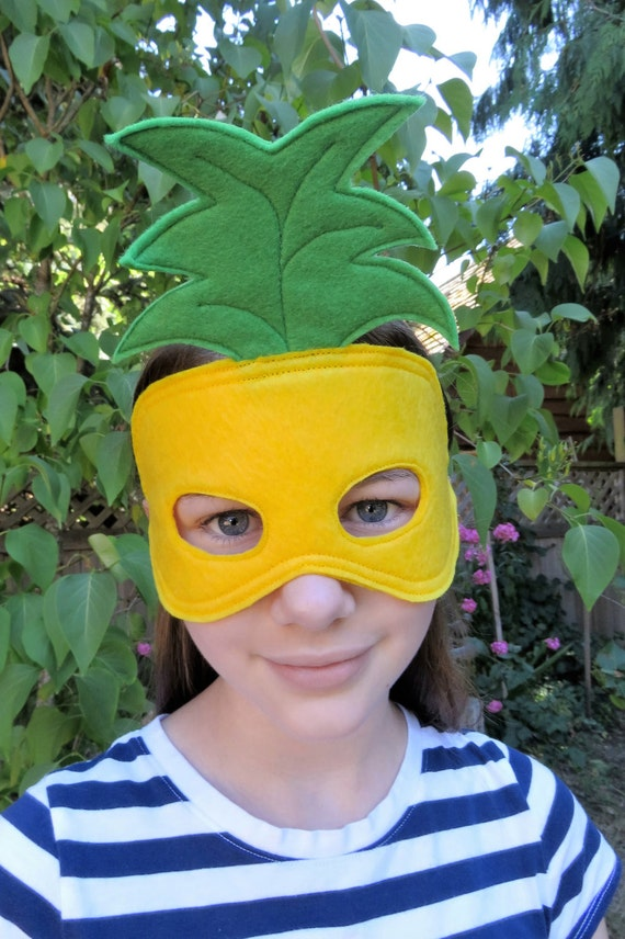 Pineapple Mask Fruit Mask Costume Mask Masquerade