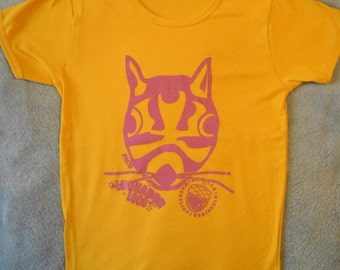 Mexican Wrestling Squirrels Paco t-shirt (adult/teen size MEDIUM)