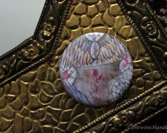 Hexenkessel kompakt Taschenspiegel mit samt Tasche Original-Kunstwerken