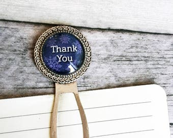 Bookmark, Retirement gifts, Blue gift man, White snowflake, Winter gift idea, Business gift, Thank you gift, For guest, Thank you teacher
