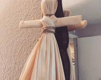 Handmade Corn Husk Dolls