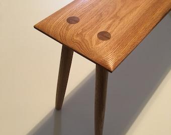 Handmade Oak Bench