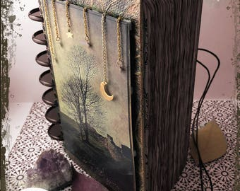 Dream Journal, Book of Shadows, Grimoire, Journal, Diary, Notebook, Sketchbook - Fully customizable!