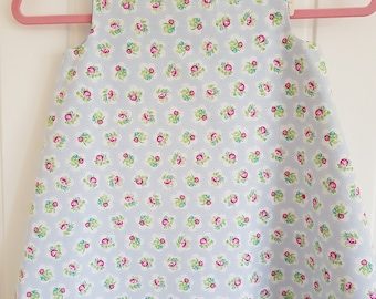 Blue Rose Girls Pinafore Dress Age 1 year