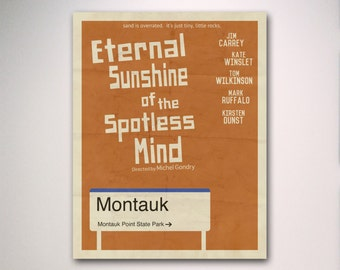 Eternal Sunshine of the Spotless Mind Minimalist Movie Poster