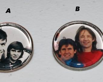 Monkees Pinbacks - 25 Designs!