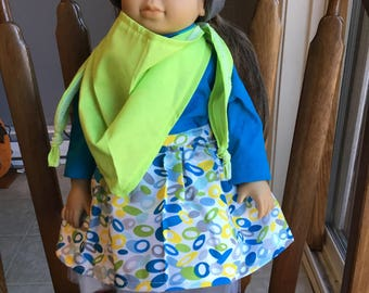 """Fun outfit for 18"""" doll such as American girl"""
