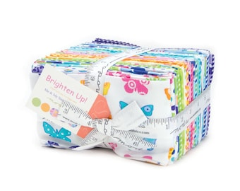 Moda BRIGHTEN UP 40 Fat Eighth Bundle 22280F8 Quilt Fabric By Me & My Sisters