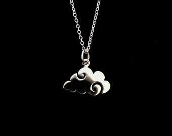 Cloud Necklace - Sterling Silver