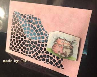 map mini friends ;-) two mini cats
