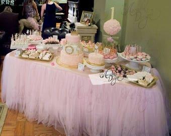 Pink Tutu Table Skirt ...