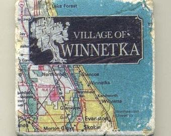Winnetka Illinois -  Original Coaster