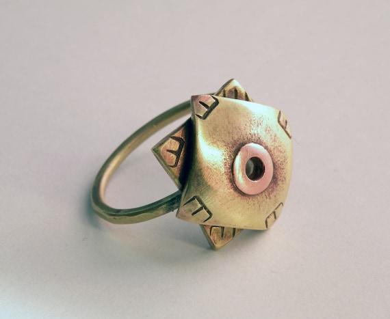 Sun Eye Ring