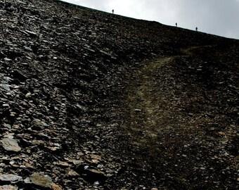 Steepness   Mountaineers   Fine Art Photography   Zermatt   Matterhorn   Rock Stone   Clouds   Swiss Alps   Dramatic Meager Desert