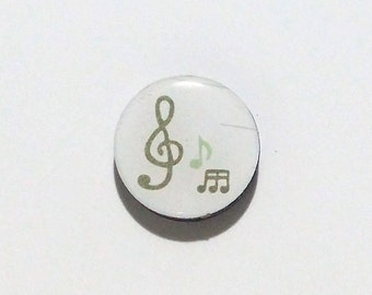 Music Refrigerator magnet / Music Fridge Magnet / Treble Clef / Musician Gift / Music Teacher Gift / Band Magnet / Music Note