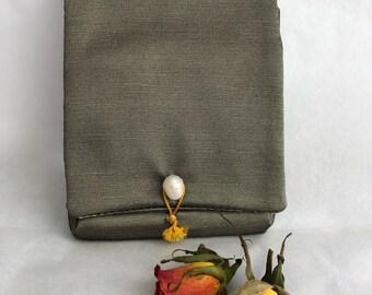 Luxury mini silk wallet