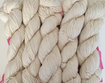 Organic Cotton All Natural Undyed