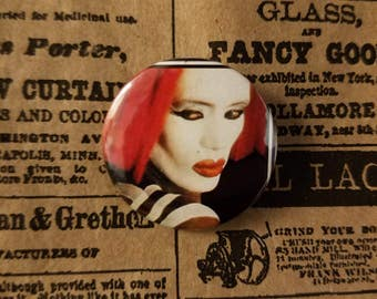 Grace Jones Vamp pin