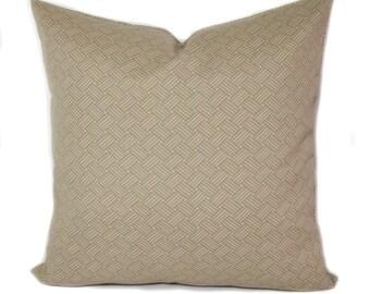 Outdoor pillow cover, 20x20, Outdoor pillow, Beige outdoor pillow, Outdoor throw pillow, Outdoor cushion, Outdoor toss pillow, Porch pillow