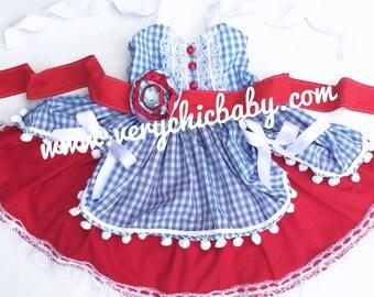 Dorothy Dress, Dorothy Costume, Wizard of Oz Dorothy Costume, Dorothy Wizard of Oz Dress, Dorothy Dress Girls, Dorothy Costume Girls