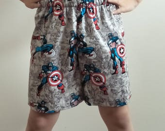 Avenger Boy's Shorts, Size 6, boy's shorts, children's shorts, summer shorts
