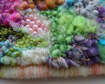 Sous la neige: embroidered cuff