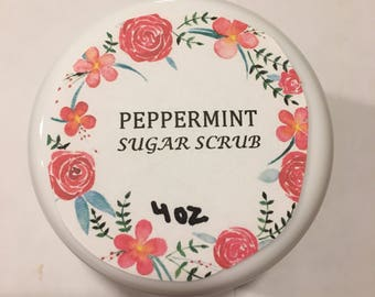 Peppermint Hand Scrub