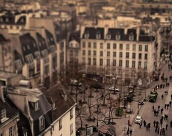 "Original Photograph ""Tiny Parisians"" by J. Ensley (5"" x 7"")"