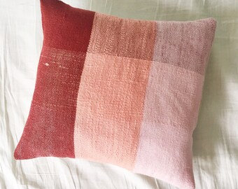 SALE! Plaid Pink Pillow Sham / Pillow Cover / Accent Pillow