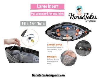 """Organizing Tote Insert fits 16"""" Tote"""