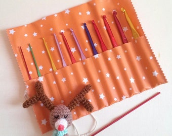 Hooks kit made with or without a lot of 12 hooks-gift idea mothers day