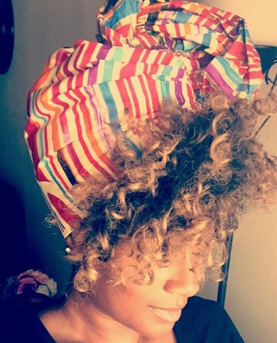 "The ""Hard Candy"" hair wrap"