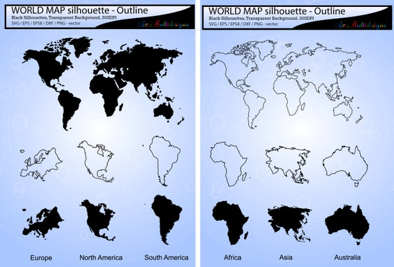 World map svg silhouette world map outline map silhouette gumiabroncs Images