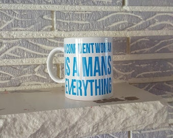 Confident woman Mug